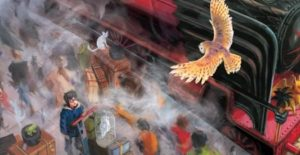 harry potter illustrazioni colori