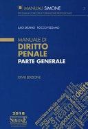 Manuali di diritto penale 2019 (parte generale e speciale)