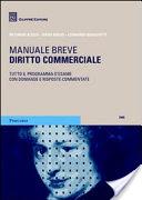 Manuali di diritto commerciale 2020