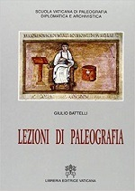 Libri e manuali di paleografia greca e latina