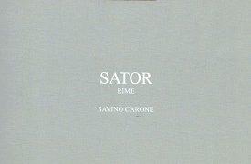 Sator: presentazione del libro di poesie di Savino Carone