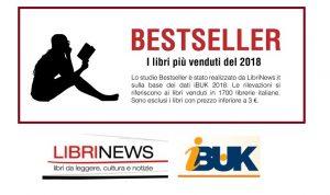 Bestseller: i libri più venduti del 2018 [STUDIO e INFOGRAFICA]