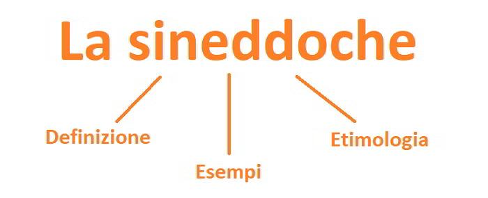 Sineddoche: esempi e significato