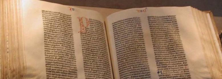 I libri della Bibbia tra Vecchio e Nuovo Testamento