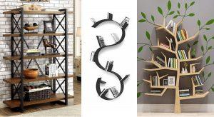 Librerie dal design moderno a muro o sospese