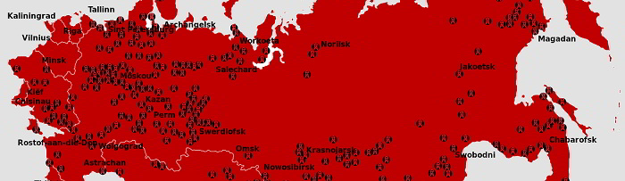 Libri sui gulag russi