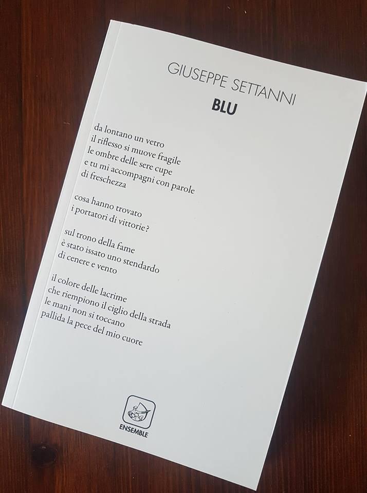 Blu: presentazione del libro e intervista a Giuseppe Settanni