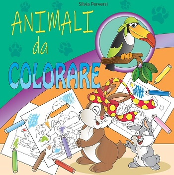 Animali da colorare: intervista all'autrice Silvia Perversi