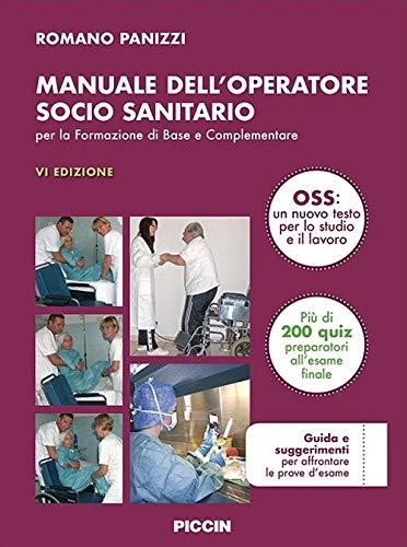 Manuale dell'operatore socio sanitario di Panizzi: presentazione della VI edizione