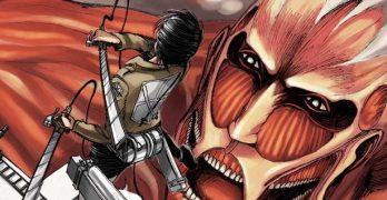 Il manga l'Attacco dei giganti e Before the fall