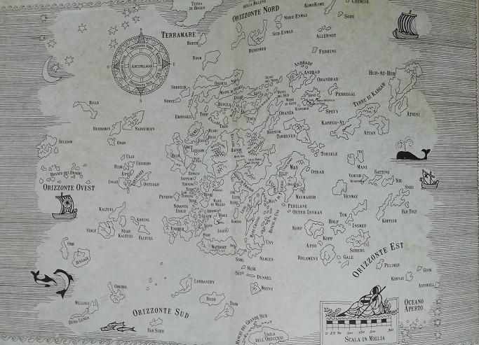 Mappa di Terramare (Earthsea)