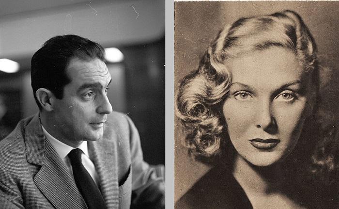 Elsa De Giorgi e Italo Calvino