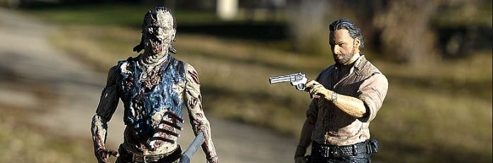 The Walking Dead: funko pop, action figures e gadget