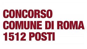 Concorso comune di Roma: manuale e libri di quiz