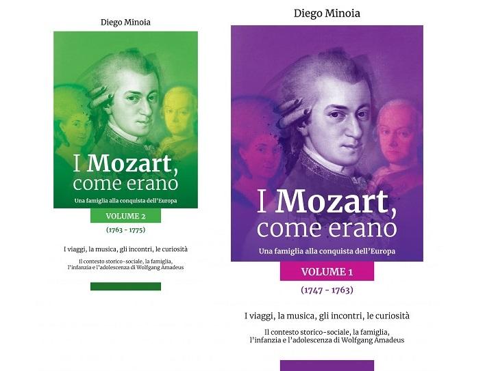 I Mozart, come erano (2 volumi): presentazione e intervista a Diego Minoia