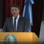 Renzi legge Borges in Argentina: il video